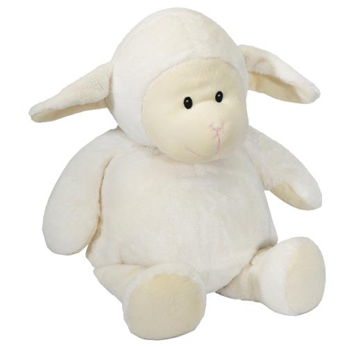 Bestickbares Kuscheltier Schaf