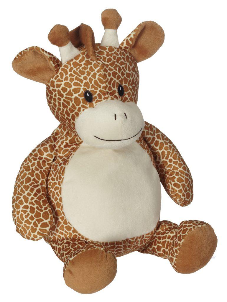 Bestickbares Kuscheltier Giraffe