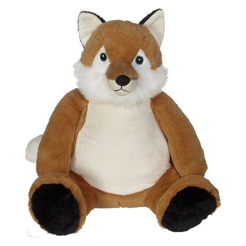 Bestickbares Kuscheltier Fuchs