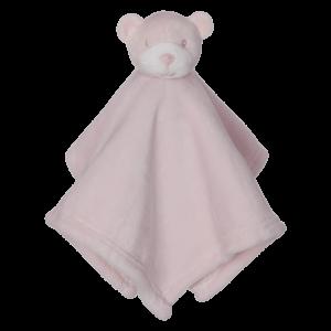 Kuscheltusch Bär rosa