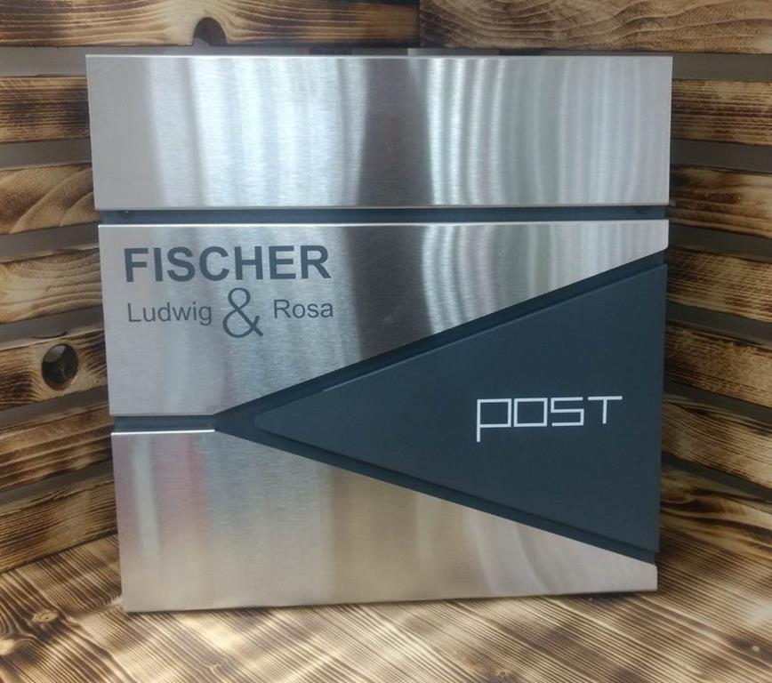 Fischer Post Aufkleber