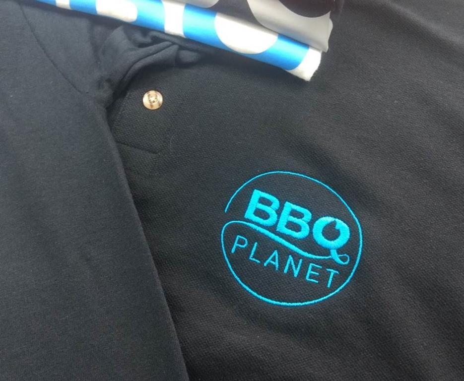 BBQ Planet Aufnäher