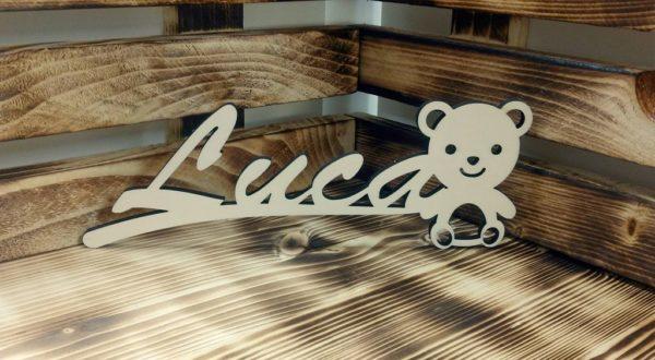 Holzschild Bär