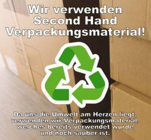 Verpackungskartons mit Text