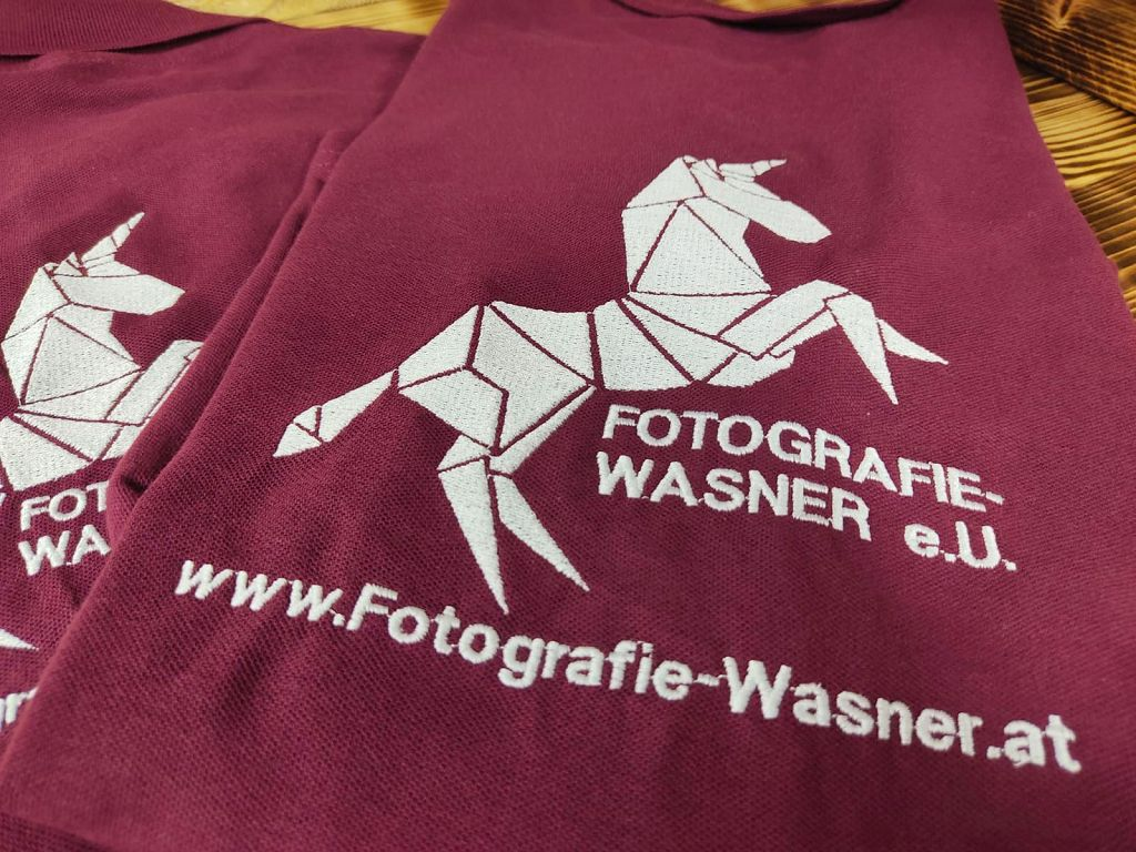 Stick Polo Fotografie Wasner Textilstick günstig