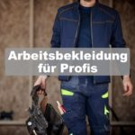 Mann mit Arbeitsbekleidung und Werkzeuggürtel