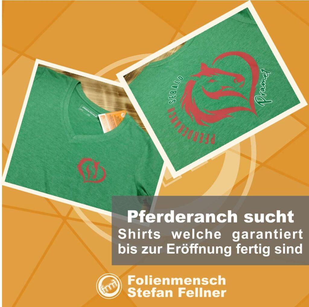 Bedruckte T-Shirts Pferderanch Pramet